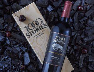 Punaviini pienellä twistillä – 1000 Stories Zinfandel