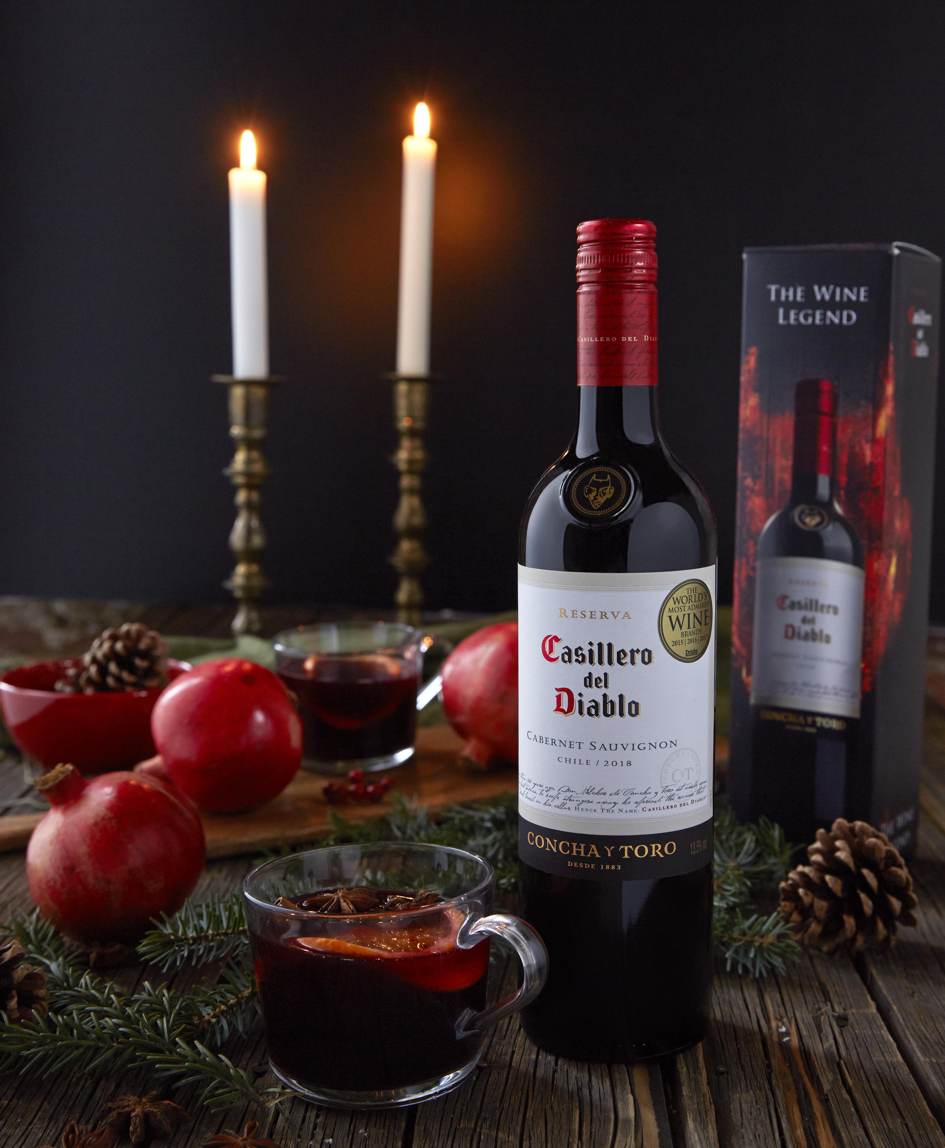 Jouluviini Casellero del Diablo