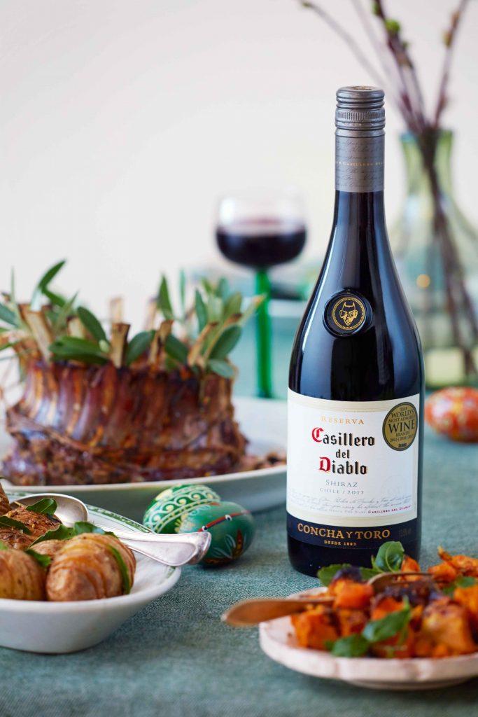 Täydellinne viini lampaalle: Casillero del Diablo